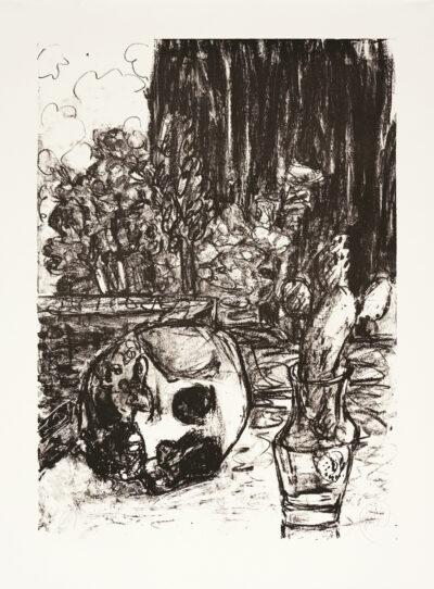 Markus Lüpertz, Tosca (Motiv 17), 2016, Lithografie auf Bütten, 82,8 x 61,5 cm, 20 arab. num. Exemplare zzgl. e.a.
