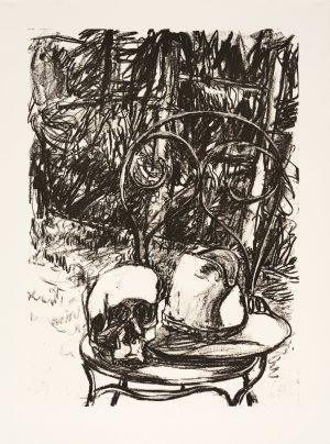 Markus Lüpertz, Tosca (Motiv 19), 2016, Lithografie auf Bütten, 82,8 x 61,5 cm, 20 arab. num. Exemplare zzgl. e.a.