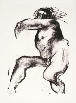 Markus Lüpertz, Michael Engel (Motiv 1), 2017, Lithografie auf Bütten, 82,8 x 61,5 cm, 20 arab. num. Exemplare zzgl. e.a.