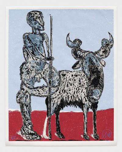 Markus Lüpertz, Der Hirte, 1987-1988/2019