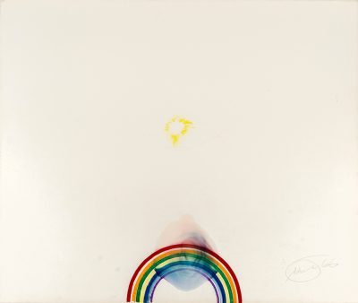 Otto Piene, O.T. (Rainbow and Eye), 1966, serielles Unikat