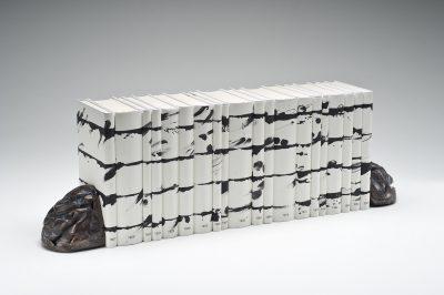 Günther Uecker, Unalphabetische Zeilen – Nobelpreisbibliothek, 2012