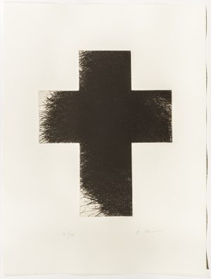 Arnulf Rainer, Dark Cross, 1992/2014