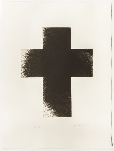 Arnulf Rainer, Dark Cross, 1992/2014
