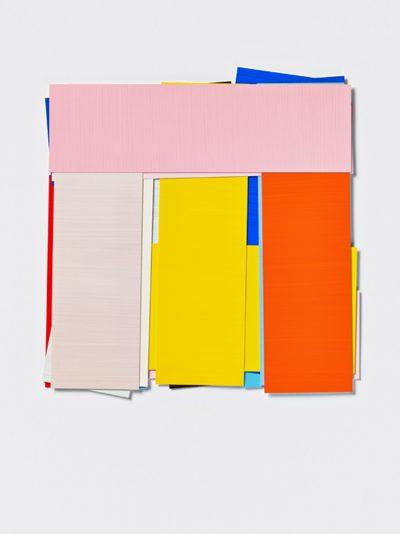 Imi Knoebel, 14 Farben B, 1993-2012. Acryl auf Kunststoff-Folie gemalt, 37 x 36 cm, 5 Exemplare