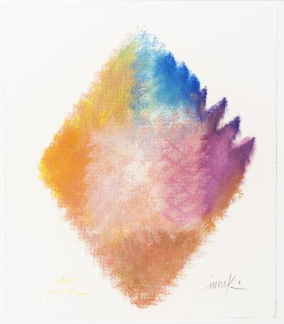 Heinz Mack, Color Poem, 2004. Unikat, Pastellzeichnung, 53 x 46 cm