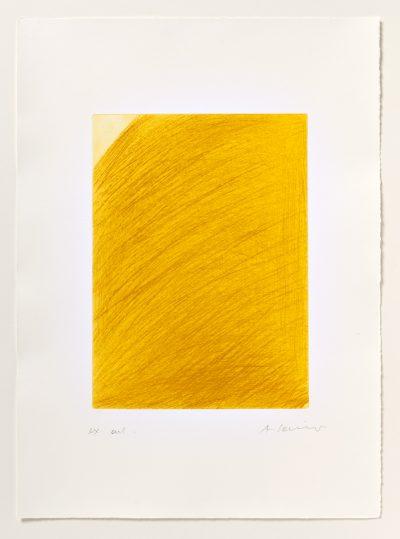 Arnulf Rainer, Großer und kleiner Eckenrest, 1971/2002