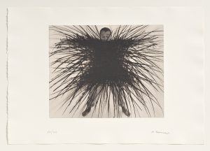 Arnulf Rainer, Skelett, 1976