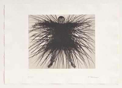 Arnulf Rainer, Skelett, 1976