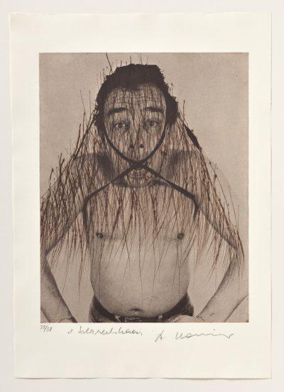 Arnulf Rainer, Schreckhaar, 1972-74/1976