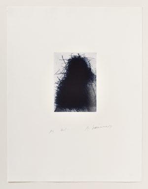 Arnulf Rainer, Schattenbüste, 1977/1991