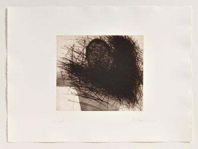 Arnulf Rainer, Selbst mit Ecke (Selbstverdeckung), 1975/1999