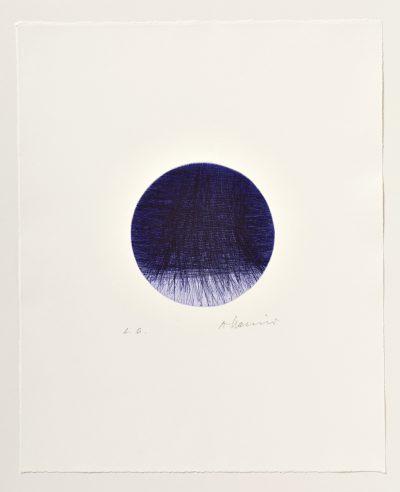 Arnulf Rainer, Der Mond geht auf, 1961
