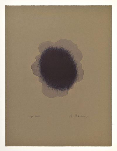 Arnulf Rainer, Blaue Wolke, 1995