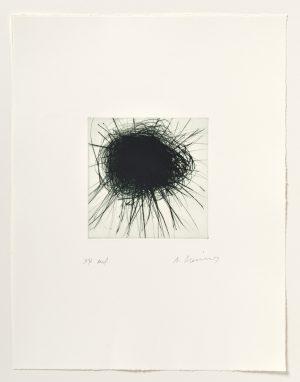 Arnulf Rainer, Dunkle Sonne, 2003