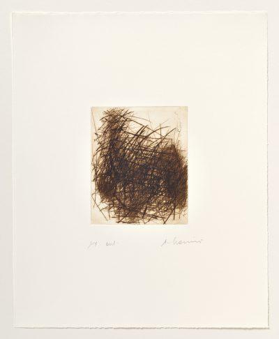Arnulf Rainer, Gebüsch im Herbst (Toter im Gebüsch), 1979-80/2002