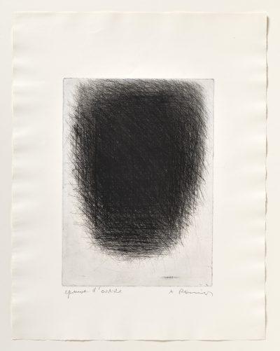 Arnulf Rainer, Tafel, 1961