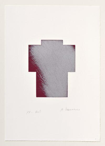 Breitkreuz Silber/Weinrot, 1999