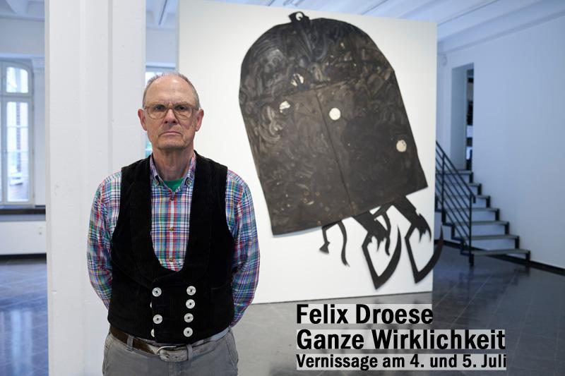 Felix Droese, Schaut die Mächtigen, Ihnen ins Gesicht: Orgasmusangst, Jahr: 2019/2020 / Installation Galerie Breckner 2020 / Ausstellung Felix. Droese. Ganze Wirklichkeit | Foto: Jack Kulcke