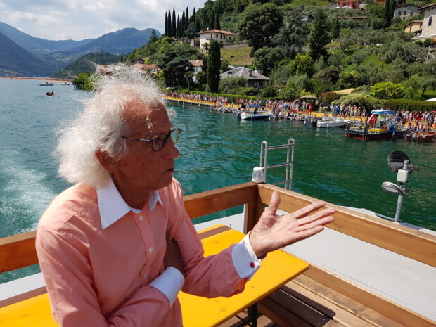 Christo und Jeanne-Claude - Floating Piers - Lago d'Iseo