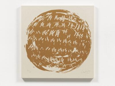 Günther Uecker Ouroboros – Im Kreis gehen Motiv 11 Terragrafie 2018