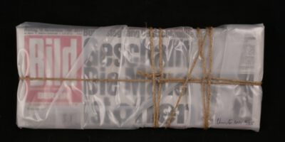 Christo und Jeanne-Claude Wrapped BILD Berlin Collage 2014
