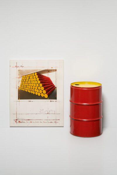 Christo und Jeanne-Claude The Mastaba Project for Kunstverein Köln Collage und Skulptur 1986