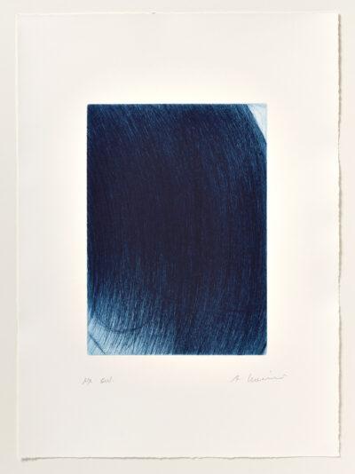Arnulf Rainer Neuerliche Überdeckung Radierung 1971/2002