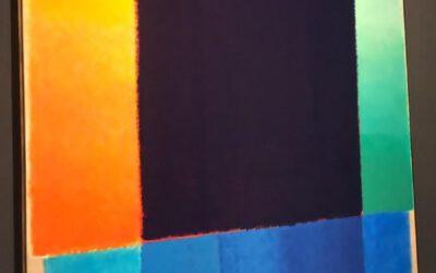 Impressionen der Ausstellung Heinz Mack