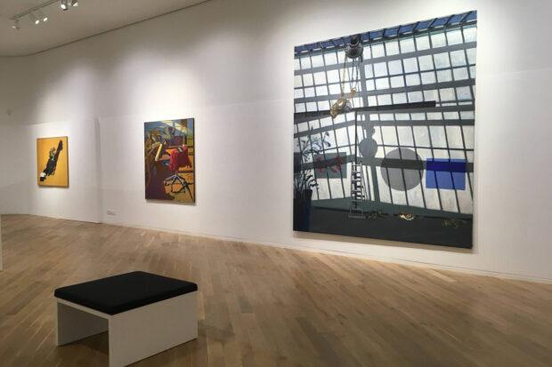 """Ausstellung """"Himmelgeister Norbert Tadeusz"""