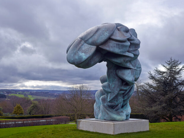 Ausstellung Tony Cragg in Houghton Hall