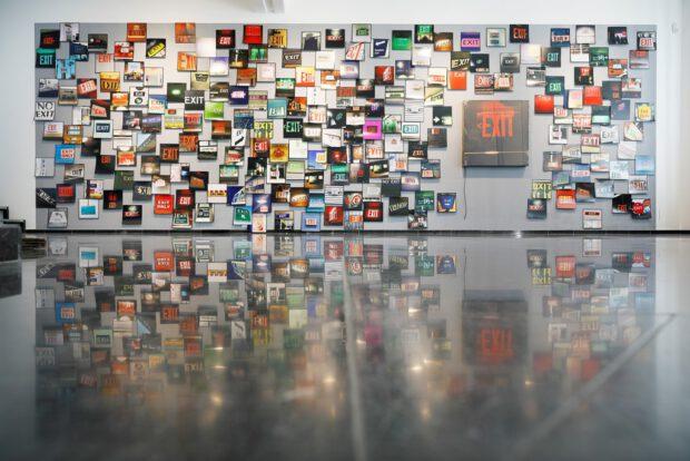 EXIT Ausstellung Galerie Breckner